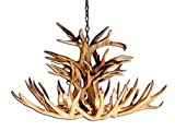 Reproduction Antler Mule Deer Royal Crown Chandelier Light Xlarge Review