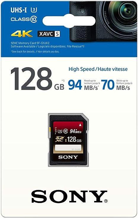 Sony SF16UX - Tarjeta de Memoria SDHC de 16 GB (uhs-I, Clase 10 ...