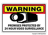 SECURITY SURVEILLANCE SIGNS ~Sign~burglar video warning