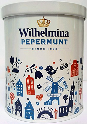 Wilhelmina Peppermints - 17.6oz Holland Design Tin ()