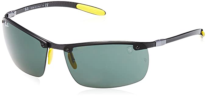 5733982b1 Ray-Ban UV Protected Square Men's Sunglasses - (0RB8305MF0107164 64 Dark  Green