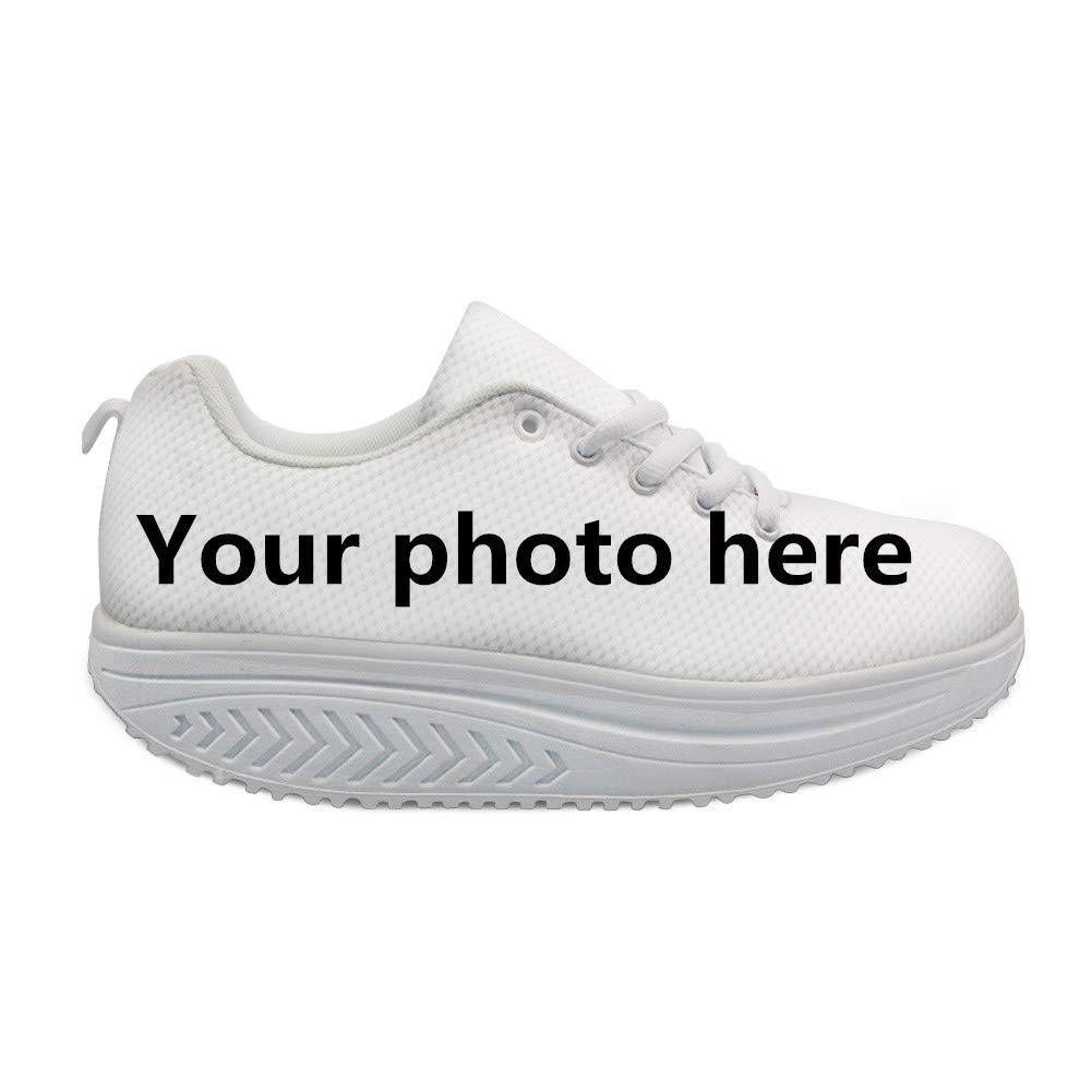 7980dff5e1215 Bigcardesigns Cool High Platform Women's Toning Fitness Walking Shoes Sport  Sneaker