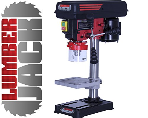 Lumberjack Pillar Hobby Bench Drill Press 13mm 300W 230V