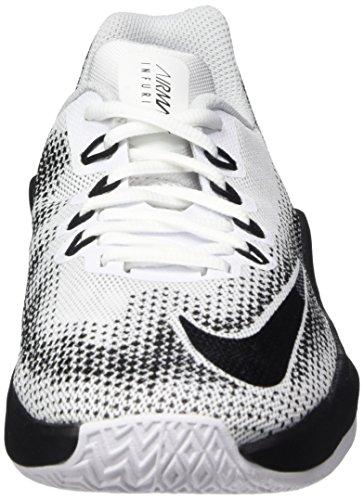 Max Nike Platinum Ginnastica blanco Scarpe white 000 Grey pure Air Bianco wolf Infuriate black gs Bambino Da 5rx5YZ