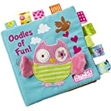 Noveltyhouse Baby Crinkle Books Fabric Cloth Non-Toxic Activity Crinkle Book Early Educational Toys for Toddler Kids