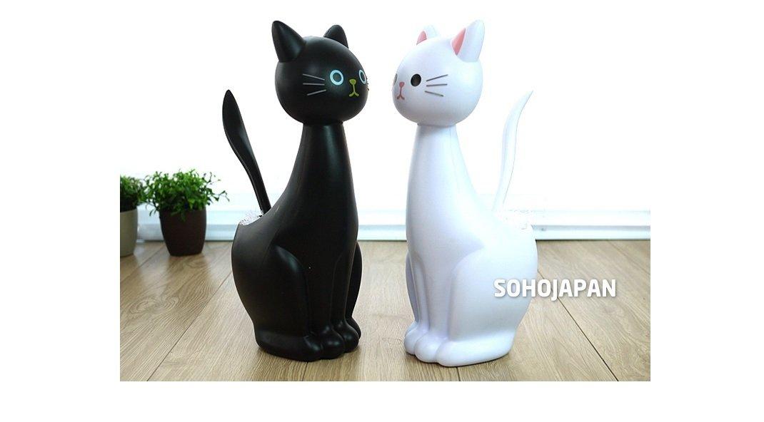 summall猫トイレブラシ ブラック B01KAIHGM6 ブラック