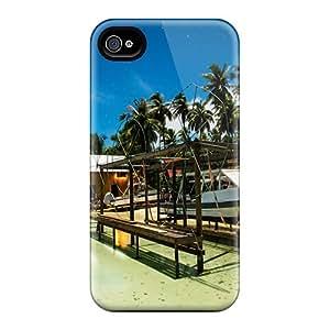 PKgbIPt6365cmRGa JenniferLynn Dry Boat Fakarava Tuamotu Feeling Iphone 4/4s On Your Style Birthday Gift Cover Case