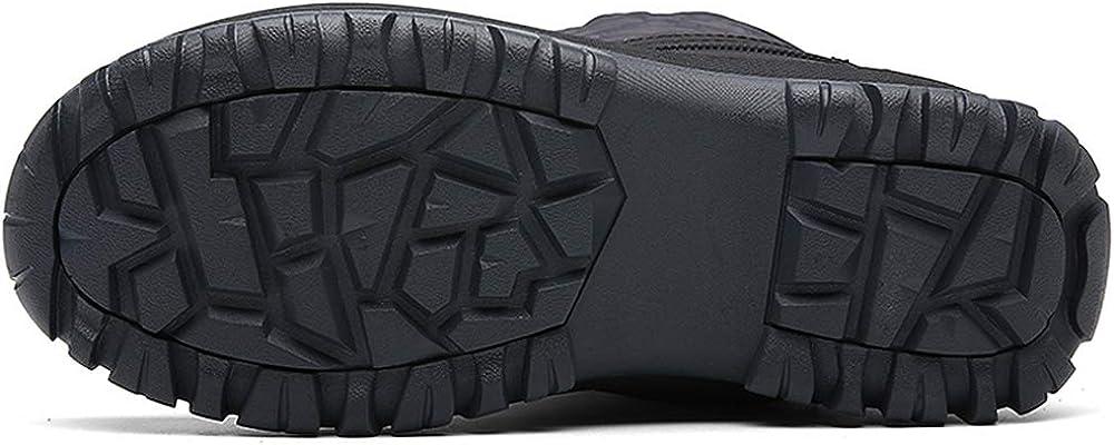 Bottes de Neige Femme Boots de Pluie Hiver Chaude Fourr/ées Imperm/éable Wellington Boots 36-42