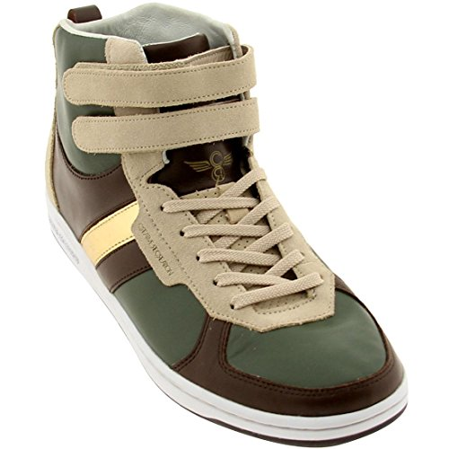 The Lo Dicoco Sneaker - Creative Recreation Dicoco (forest/brown/khaki/gold)