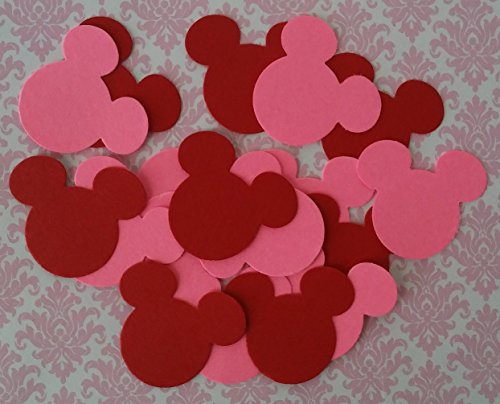 (100  (Red Minnie Party Supplies)