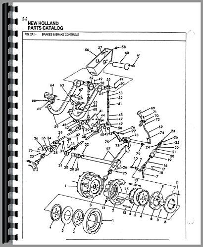 Ford 555d Parts Diagram