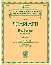 60 Sonatas, Books 1 and 2: Schirmer Library of Classics Volume 2063