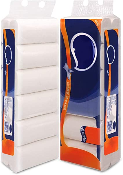 SSDS Papel higiénico suave-24 Rollos Papel higiénico de 4 Capas ...
