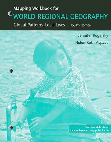 World Regional Geography Mapping Workbook & Study Guide