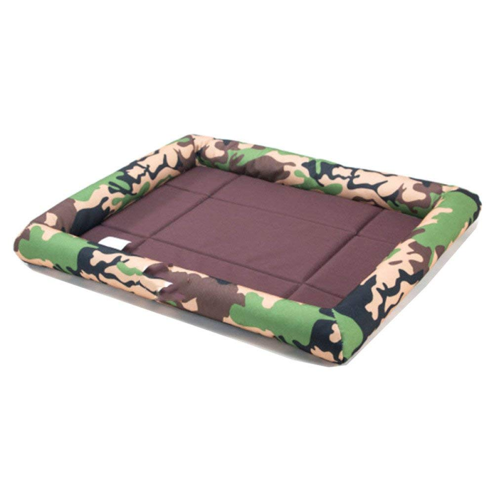 A Small A Small Premium Dog's Bed, Dog Mat Pillow Bed Bite Four Seasons General Pet Mattress Sofa Cushions (color   A, Size   Small)