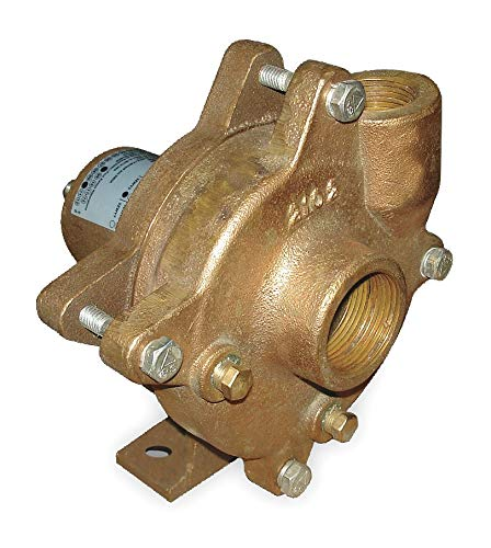 (Dayton Pedestal Pump, 2 HP Required, 2 Inlet (In.), 1-1/2 Outlet (In.) - 2ZWY6)