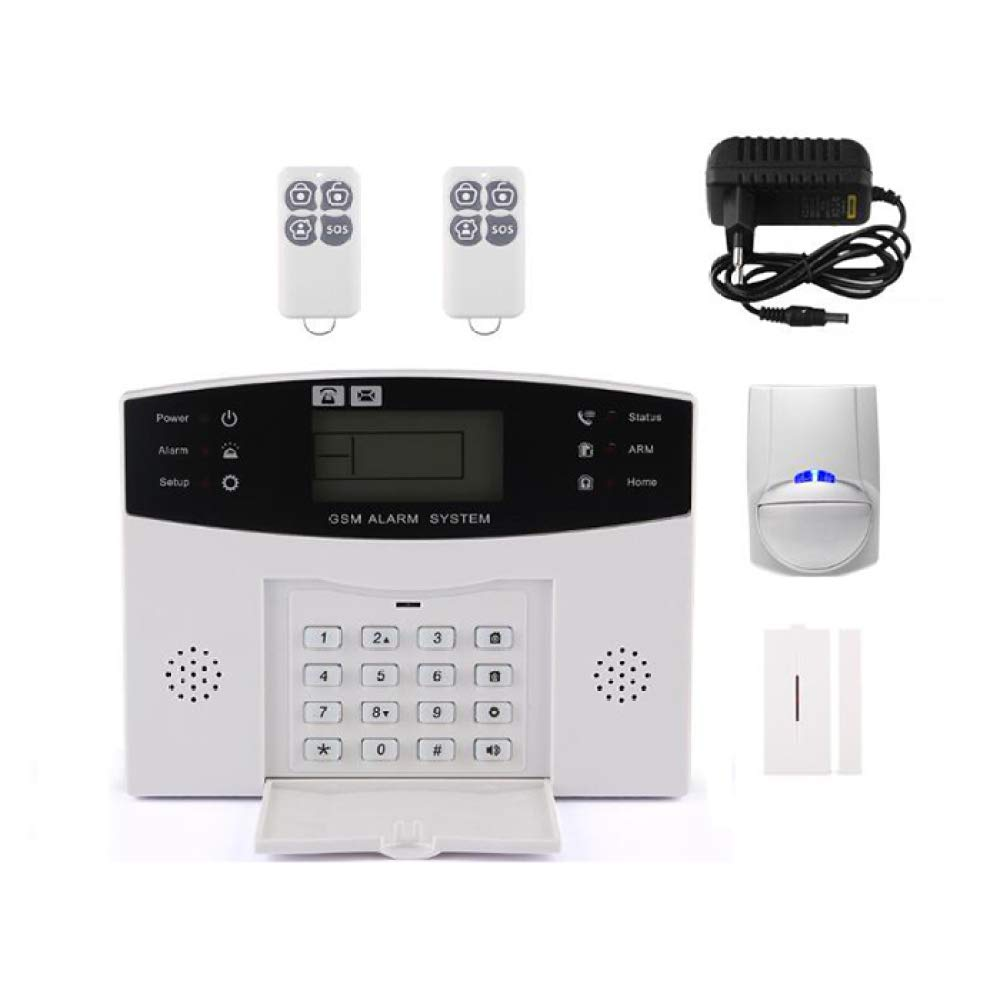 Amazon.com: Sky God GSM & WiFi Burglar Alarm System, Smart ...