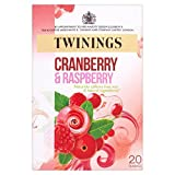 Twinings Cranberry & Raspberry Tea – 20s – Pack of 4 (20s x 4)