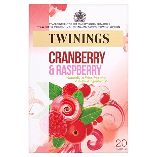 (Twinings Cranberry & Raspberry Tea - 20s - Pack of 4 (20s x 4))