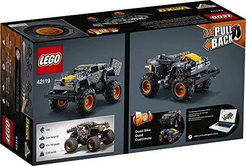 LEGO Technic Monster Jam Max-D 42119 Model Building Kit for Boys and Girls Who Love Monster Truck Toys, New 2021 (230…