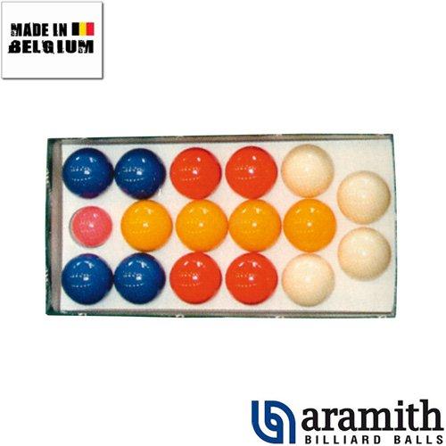 Aramith - Billes de Pétanque Aramith 4 joueurs 47 mm