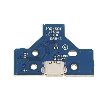 Tarjeta de Puerto de Carga USB Placa de zócalo para PS4 JDS ...