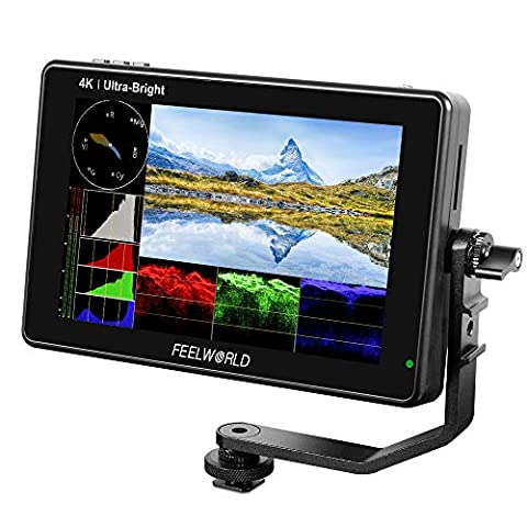 FEELWORLD LUT7 7 Inch Ultra Bright 2200nit Touch Screen Camera - Sale: $188.99 USD (30% off)
