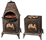 Deeco DM-0039-IA-C Aztec Allure Cast Iron Pizza Oven Chiminea Review