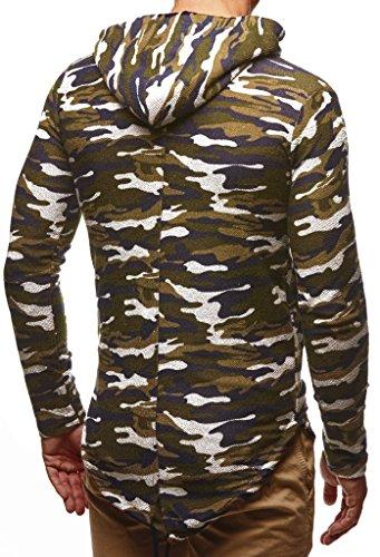 Des Basic Nelson Sweat Hoodie Hommes À Pour Pull Shirt Oversize Manche Sweater Pullover Longue Ln6301 Leif Camouflage Veste Capuche HzPqwdEz