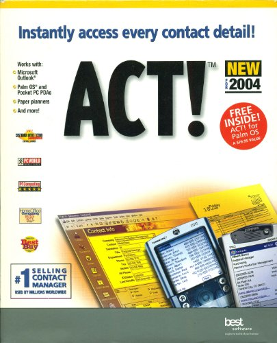 ACT!™ 6.0 For 2004
