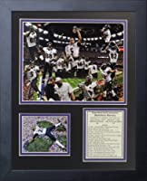 Legends Never Die Baltimore Ravens 2012 Champions Framed Photo Collage, 11 by 14-Inch