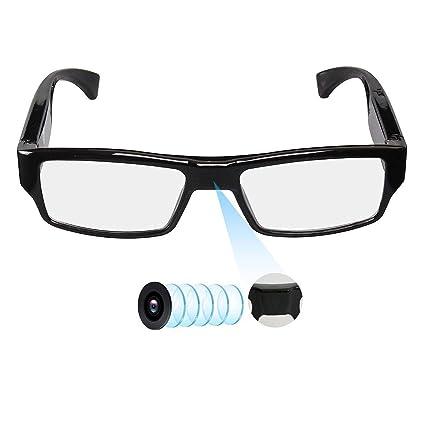 LINYU Gafas de cámara espía con Soporte de Video hasta 32 GB ...