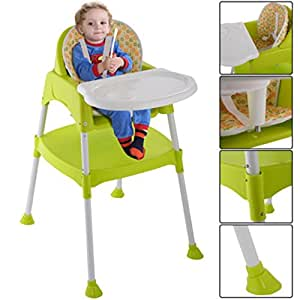 Amazon Com Highchair 3 In 1 Baby Chair High Table