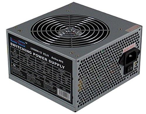 107 opinioni per LC-Power LC600H-12 PSU, 600W, Colore Grigio