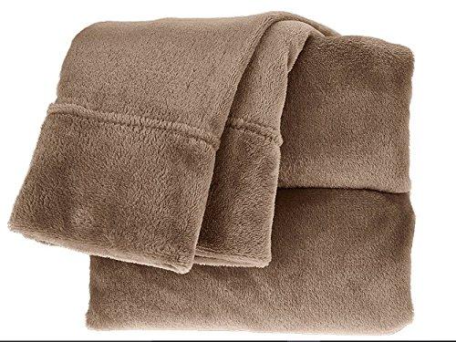 Berkshire Blanket VelvetLoft Sheet Set (Queen, (Queen Sheet Set Truffle)