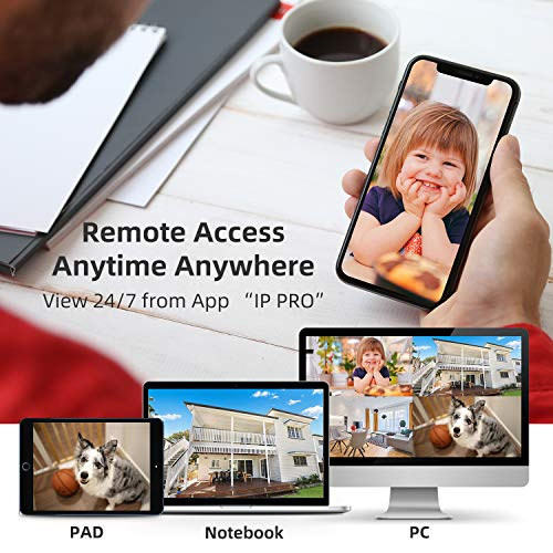Smonet 4CH 720P HD NVR Wireless Security CCTV Surveillance Systems(WIFI NVR Kits)-Four 1.0MP Wireless WIFI Indoor Outdoor IP Cameras,P2P,65FT Night Vision, 1TB HDD Pre-installed