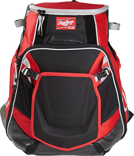 Rawlings Sporting Goods Velo Back Pack Scarlet