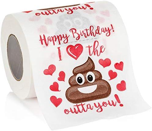 Maad Romantic Birthday Novelty Toilet product image