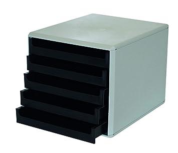 """Metzger & Mendle 30050901be cajones caja con 5 cajones reciclado, certificado""""Ángel azul"""