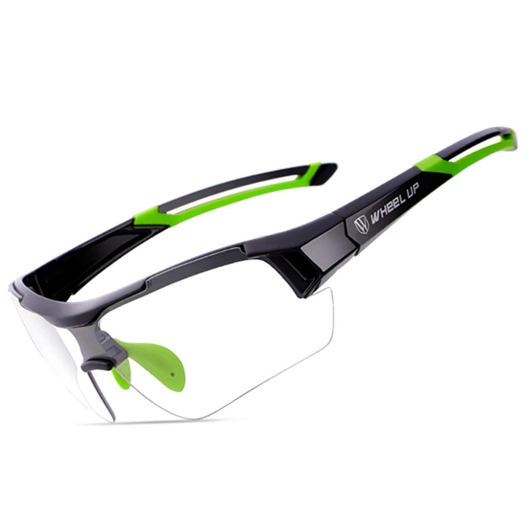 YFFS Mountain Bike Color Changing Cycling Glasses for Men and Women Bicycle Outdoor Sports Windproof Glasses Equipment (Color : #2)