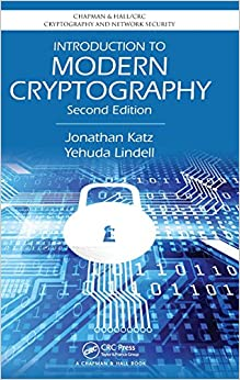 Introduction To Modern Cryptography, Second Edition (Chapman & Hall/CRC Cryptography And Network Security Series) Books Pdf File