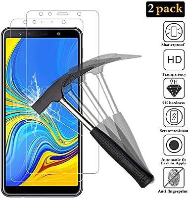 ANEWSIR [2 Pack] Protector de Pantalla para Samsung Galaxy A7 2018 ...