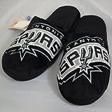 San Antonio Spurs NBA Big Logo Hard Sole Slide Slippers