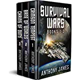 Survival Wars: Books 1-3: Crimson Tempest, Bane of Worlds, Chains of Duty