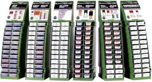 Littelfuse MRS3 PRO-TEK Modular Rack System with Glass and Ceramic Fuse Assortment