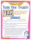 Instant File Folder Games-Toss Trash, Scholastic, Inc. Staff, 0439400910