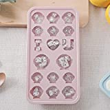 2019HoHo Ice Cube Molds Tray with Lid Cute DIY Ice Shaper,Popsicle Molds/Ice Pop Maker,Easy Release
