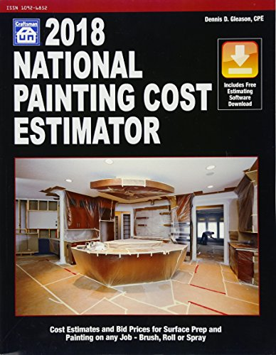 National Painting Cost Estimator 2018 by Craftsman Book Co