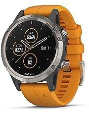 Garmin, Reloj Deportivo Fenix 5S Plus, Modelo 010-01987-00, Blanco