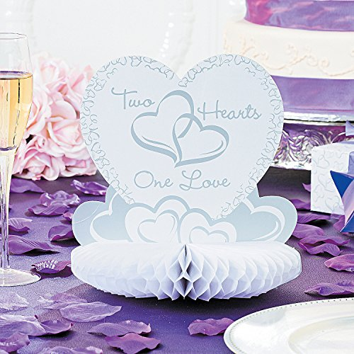 Review Two Hearts Wedding Centerpiece